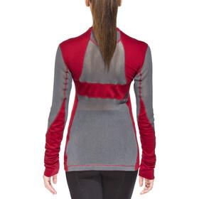 Klättermusen Grid Net Sweater Women, burnt russet